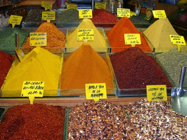 Radioactivity testing in spices